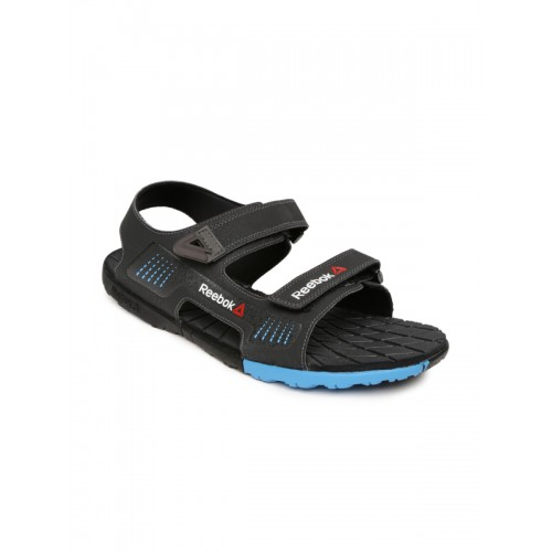 bd1bffd29c0880 Buy Reebok Men Black Chrome Rider Sports Sandals online