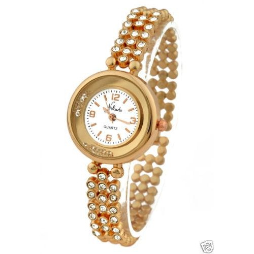 15dc9de52f31 ... Luxury Rhinestone Woman Watch in Rose Gold Color - Ladies Watches ...
