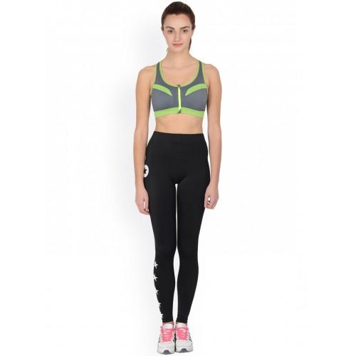 3aa5e4347d Buy Da Intimo Grey Front-Open Activewear Sports Bra DIX-53 online ...