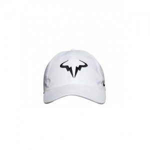 Nike Unisex White AEROBILL H86 Rafa Tennis Cap