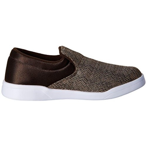 a86cbdd1da108b Buy Reebok Brown Canvas Court Slip On Loafers and Moccasins online ...