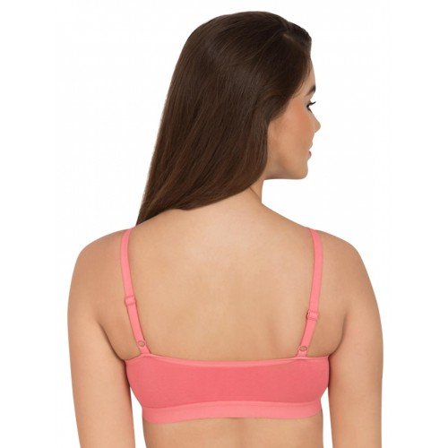 buy tweens coral solid pack of 3 bralette bra online