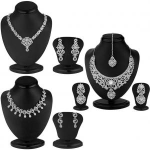 Sukkhi Fascinating 3 Piece Zinc Jewel Set