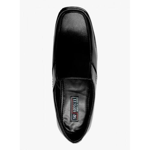 sir corbett black formal shoes