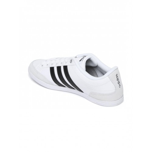 adidas neo caflaire white sneakers