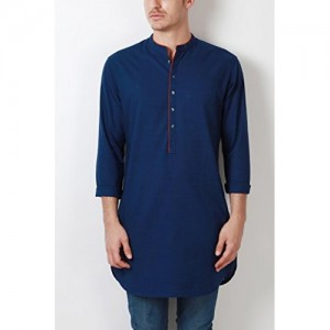 Peter England Peter England Men's Knee Long Cotton Kurta