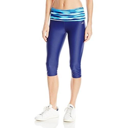Buy Adidas adidas Women s Printed Roll Down Waist Capri online ... 7bcee9f529