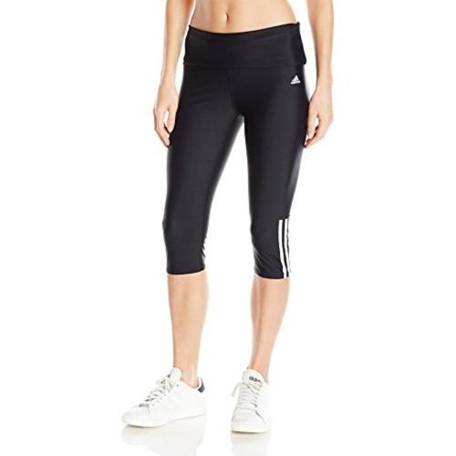 Buy Adidas adidas Women s Solid Roll Down Waist Capri online ... c2f4898f61