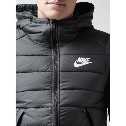 Kilimanjaro Aclarar Punta de flecha  Buy Nike Black Padded Hooded NSW AV15 SYN HD Jacket online | Looksgud.in
