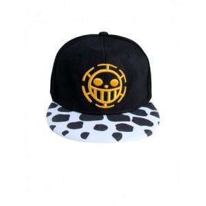 NOISE Unisex Black Printed Snapback Cap