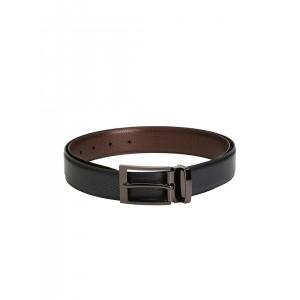 Pacific Gold Black & Brown Reversible Belt