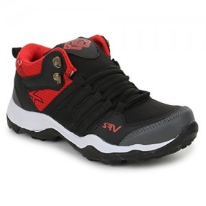 TRASE Trase SRV Kids Mirage Black/Red Sports Running Shoes