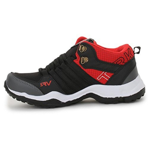 TRASE Trase SRV Kids Mirage Black Sports Running Shoes