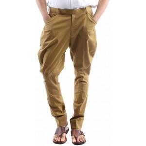 Sherlock Brown Solid Slim Fit Jodhpuri Trousers