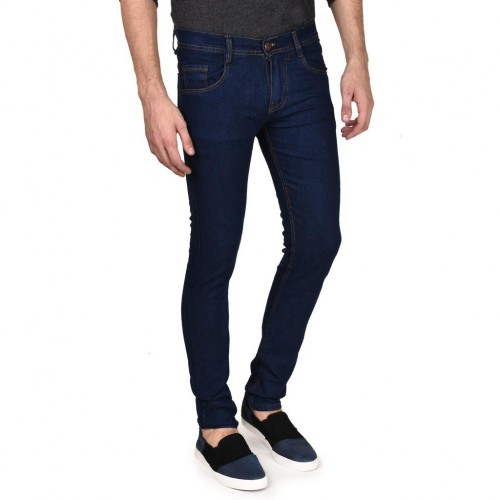 41e813c197448 ... Routeen Men s Slim Fit Dark Blue Jeans Pants (JRMRNG188S4DB) ...
