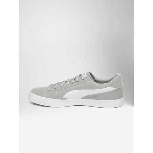 089f3ca12d3 Buy Puma Men Grey   White Match Vulc 2 Sneakers online