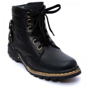 Wonker Black  Men\'S  Boots