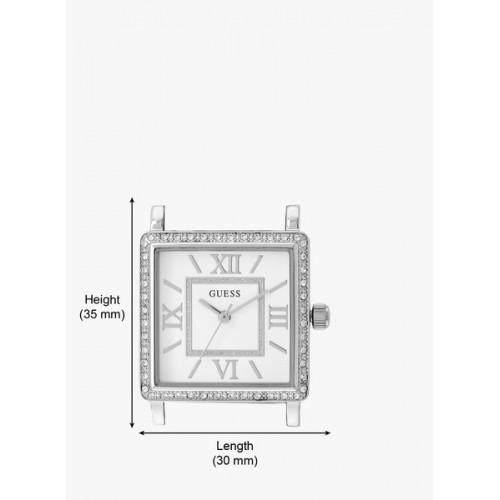 Guess Highline W0827l1 Silver/White Analog Watch
