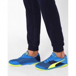 Puma Blue Printed Nevoa Lite Sports Shoes