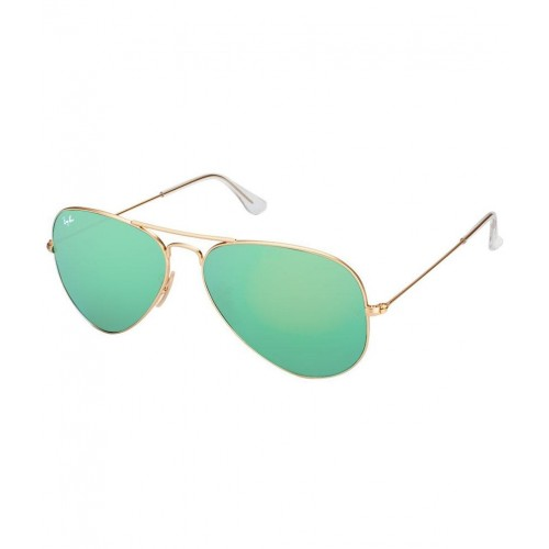 Buy Ray-Ban Green Aviator Sunglasses (RB3025 112 19 58-14) online ... eec9ce15885