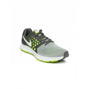 Nike Grey Zoom Span Running Shoes