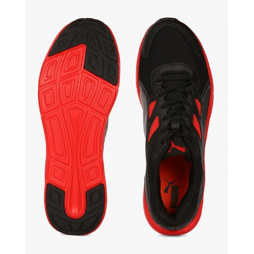 Puma Driver Black Low Ankle Running Shoes