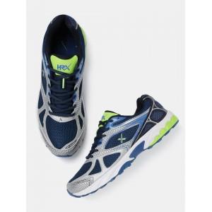 HRX by Hrithik Roshan Navy Blue Running Shoes