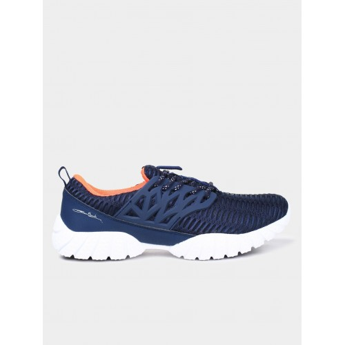 Columbus Navy Blue Low Ankle Lifestyle Shoes