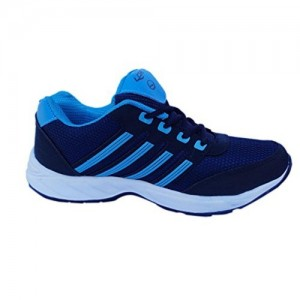 Columbus Synthetic Mesh Navy Blue Sport Shoes (UK 9)