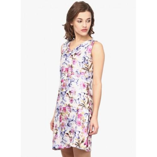 Ahalyaa Multicoloured Printed Shift Dress