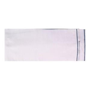 XYZ Textiles White Lungi/Sarong Pure Cotton (Pack of 1) by XYZ Textiles
