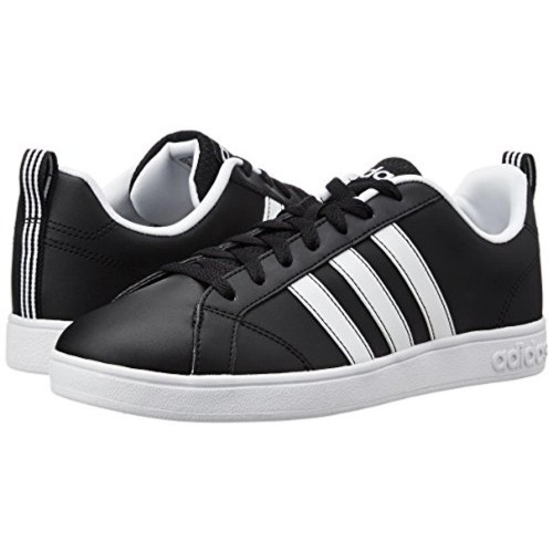 Adidas Black Leather Mid Ankle Sneakers