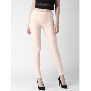 FOREVER 21 Pink Ankle-Length Leggings