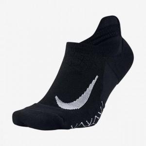Nike Navy Blue Polyester & Nylon Ankle Length Socks