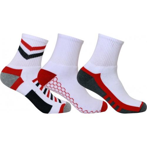 Supersox Men's Geometric Print Ankle Length Socks