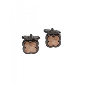 Alvaro Castagnino Gunmetal & Copper-Toned Cufflinks