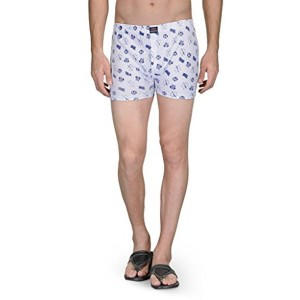 Feed Up Cotton Hosiery Boxers Pack of 4