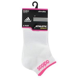Adidas adidas Girls Superlite Low Cut Socks Pack of 6