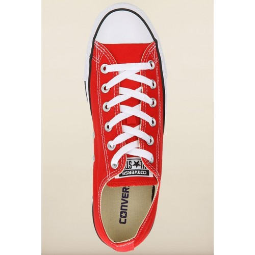 Converse Red Chuck Taylor Light Weight Sneakers For Men