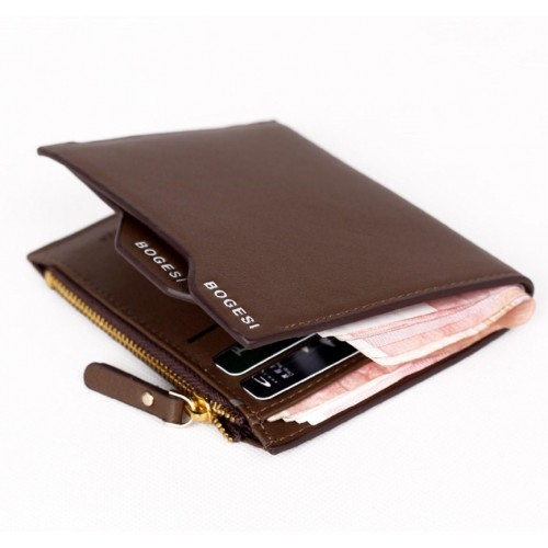 Bogesi Men Brown Artificial Leather Wallet