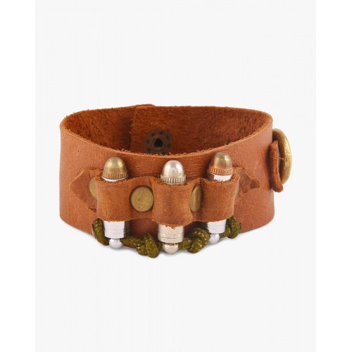 VIDA Leather Accent Tag - BULLETS by VIDA