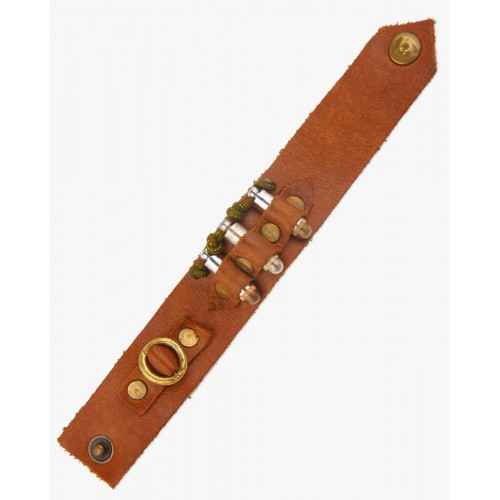 VIDA Leather Accent Tag - BULLETS by VIDA M5TuFNY