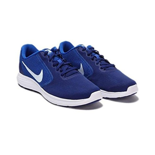 ... Nike Nike Men's REVOLUTION 3 Blue Running Shoes ...