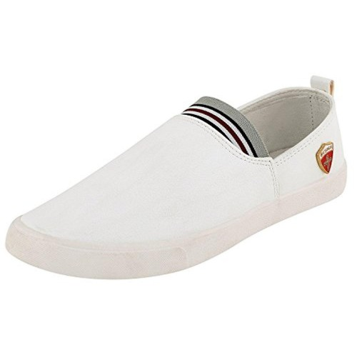 buy scatchite white canvas solid casual shoes
