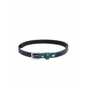 Baggit Blue Synthetic Leather Belt