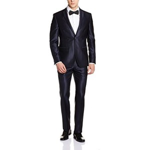 Louis Philippe Louis Philippe Men\'s Regular Fit Suit