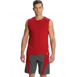 Jockey Solid Men's Grey, Red Shorts
