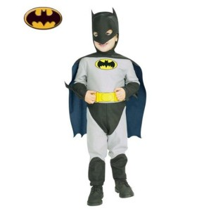 Rubie's Costume Co Batman Gray Polyester Printed Costume