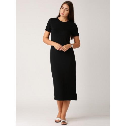 40cbfe77814 ether BLACK JERSEY DRESS; ether BLACK JERSEY DRESS ...