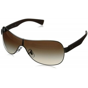 Ray-Ban Ray-Ban Wrap Sunglasses (Gunmetal) (RB3471|029/13|Free Size)